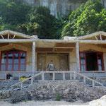 Unser Bungalow auf der Party Insel in der Halong Bucht