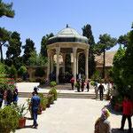 Grabstätte des Dichters Hafez