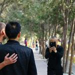 Lanzhou, einmal mehr sind wir ein beliebtes Fotosujet