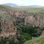 Ihlara Valley,  tektonische Plattenverschiebung