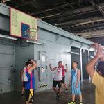 Basketball - Philippinen gegen Philippinen mit Verstärkung