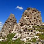 Burg in Uçhisar