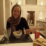 Manouchehri, ein wunderschönes Haus im traditionellen Stil von Kashan, und sehr leckeres Essen!!
