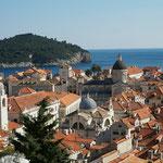 Dubrovnik: Blick über die Altstadt