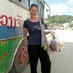 Mmh... Ausbeute des Marktbesuches in Sam Nuea