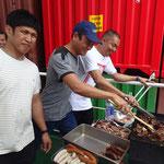 BBQ - Fleisch auf dem Grill, Fleisch im Salat, Freude im Magen ;-)
