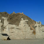 Jiayuguan, Erinnerungen an die Seidenstraße und die Chinesische Mauer
