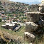 Blick auf die Moschee von der Burg