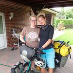 Danke für die herzliche Gastfreundschaft Linda & Angie