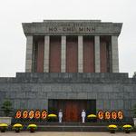 Mausoleum von Ho Chi Minh in Hanoi