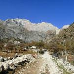 Wanderung zum Wasserfall in Arslanbob