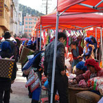 Markttreiben in Yuanyang