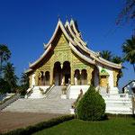 Pavillon des Phra Bang Buddhas beim Königspalast in Luang Prabang