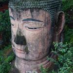 Die grösste Buddhastatue der Welt in Leshan