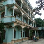 Gasthaus im Kolonialstil