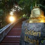 Aussichtspunkt und Tempel in Bangkok