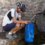 Wasser haben wir immer genügend,  zum Glück!