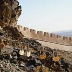 Liebesschlösser bei der Chinesischen Mauer