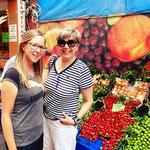 Mit Mami auf dem Markt!
