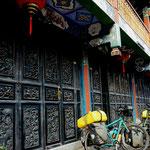 Unsere Unterkunft in Jianshui