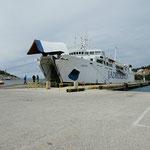 Mit dieser Fähre gings von Split nach Korčula
