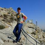 Auf dem Salomos Berg in Osch