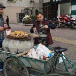 Süßkartoffeln, einer unserer liebsten Zwischenverpflegungen