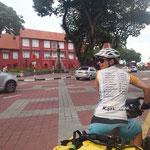 Ankunft in Melaka