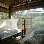 Unser Nachtlager im Nam Et-Phou Louey Nationalpark