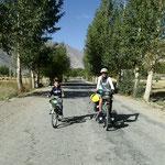 Begleitung im Wakhan Valley