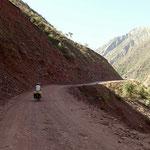 Anfahrt Pamir-Highway