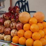 Granatapfel - Orangen Saft, frisch gepresst