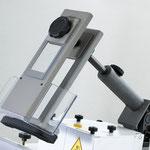Centrex Frässchutz und Druckvorrichtung sorgt für sicheres fixieren des Werkstückes