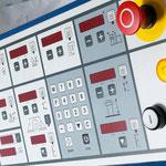 4-Achs-Positioniersteuerung für Höhen- und Schwenkverstellung, incl. Verstellung des Gesamt- und Teilanschlages