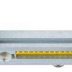 Längenanschlag Typ 617 Längenmesssystem, empfehlenswert bei der Verwendung des Rolltisches