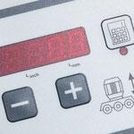 Steuerungs-Bedienfeld: für Comfort-Vorschub-Tragarm