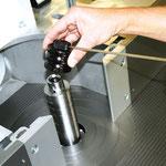 Komfortabler Werkzeugwechsel: durch Fräser-Schnellspanneinrichtung