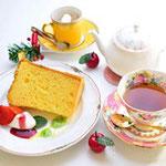 ケーキセット860円 ケーキと飲み物付き