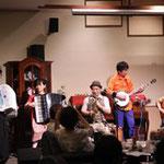 鞴座とbanjo&アコーディオンコンサート