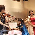 題名のない音楽会 バイオリン、ピアノ。ソプラノのコンサート