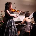 バイオリンとピアノコンサート