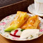 焼きたてアップルパイ。冬は大人気!焼きたてのため30分かかります。秋から春まで