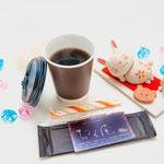 ブレンド、アメリカン500円 本日の珈琲550円、カフェオーレ650円