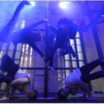 Proben für CUBEBOX The Show 2009