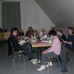 Chormitglieder brachten sich durch unterhaltsame Geschichten ein