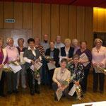 25 Jahre Frauenchor - die Gründungsmitglieder
