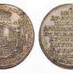 Münze des Deutschen Ordens in Mergentheim, 1/4 Konvent-Taler von 1761