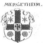 Wappen Mergentheim, nach Siebmacher´s Wappenbuch