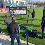 Die Interview-Vorbereitungen mit Muldental TV laufen