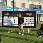 Sportlerball-Organisator Stefan Tröger stellt sich den Fragen